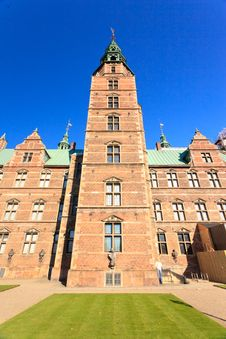 Free Rosenborg Slot Castle Royalty Free Stock Photos - 25800098