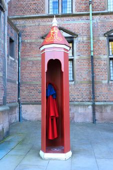 Free Danish Sentry Box Stock Photo - 25800180