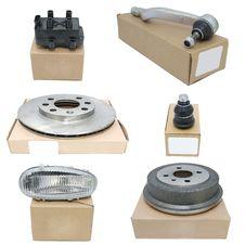Free New Auto Parts Royalty Free Stock Image - 25800826