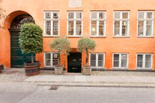 Free Traditional Danish Building Royalty Free Stock Photo - 25801665