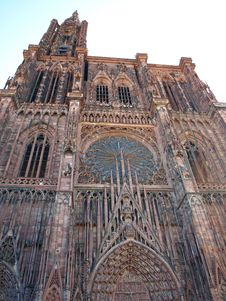 Strasbourg Cathedral Stock Image