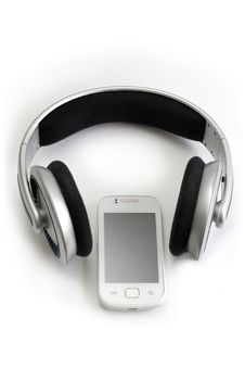 Free Headphones And Mobile Phone Stock Images - 25805514
