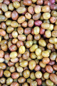 Free Green Olives Royalty Free Stock Image - 25805906