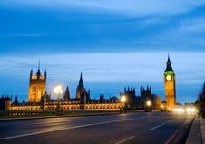 Free House Of Parliment, Big Ben Stock Images - 25805994