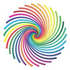 Free Rainbow Vortex Stock Image - 25808151