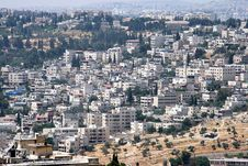 Free View From The Mount Of Olives Stock Photo - 25808280