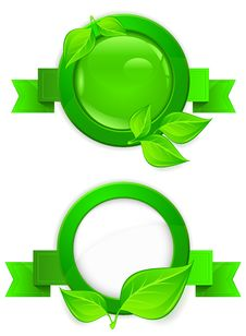 Free Green Circle Icon Stock Photography - 25809142