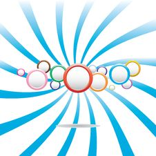Free Abstract Colorful Background With Circles Stock Photography - 25809862