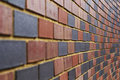 Free End Less Multi Colour Brick Wall Royalty Free Stock Photos - 25816338