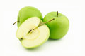 Free Two Apples And One Half Stock Photos - 25816523