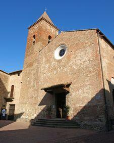 Free Certaldo Church Stock Photography - 25810582