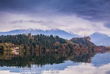 Free Bled With Lake, Slovenia, Europe Stock Photos - 25811763