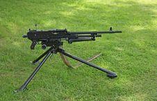 Free Military Machine Gun. Stock Photo - 25816400