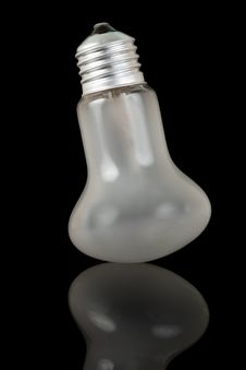 White Bulb Royalty Free Stock Photography