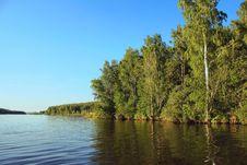 Free Summer Wood Lake Royalty Free Stock Image - 25819846