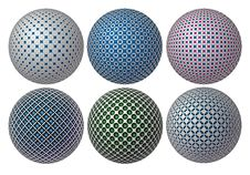 Free Balls Of The Vector Royalty Free Stock Photography - 25819917