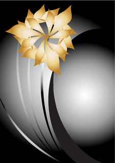 Free Abstract Flowers Background Royalty Free Stock Photography - 25823567