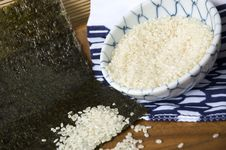 Free Uncooked Japanese Rice Royalty Free Stock Images - 25826099