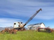 Free Old Abandoned Machines Stock Photos - 25827073