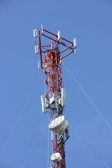 Free Phone Antenna Pole Stock Image - 25829001