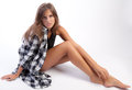 Free Pouty Teen With Long Legs Stock Photos - 25835883
