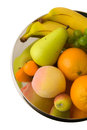 Free Fruits On Metal Centerpiece Royalty Free Stock Photography - 25838887