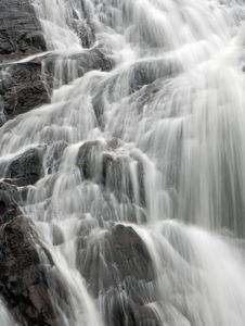 Free Closeup Of A Waterfall Royalty Free Stock Photo - 25836495