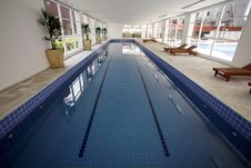 Free Indoor Pool Royalty Free Stock Photos - 25836908
