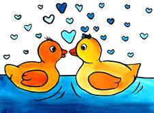 Bath Ducks Stock Photography