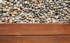 Free Pebble And Wood Royalty Free Stock Photo - 25838315