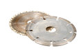 Free Used Circular Saw Blades Royalty Free Stock Image - 25841806