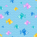 Free Fish Seamless Pattern Stock Image - 25845341