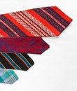 Free Neckties On White Cloth Stock Image - 25845891