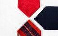 Free Neckties On White Cloth Royalty Free Stock Photos - 25845928