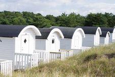 Free Beach Huts Stock Photo - 25841670