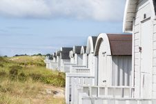 Free Beach Huts Royalty Free Stock Images - 25841689