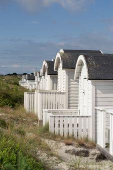 Free Beach Huts Stock Photography - 25841712