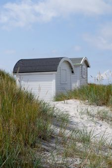 Free Beach Huts Royalty Free Stock Image - 25841756