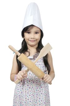Free Little Chef Royalty Free Stock Image - 25842206