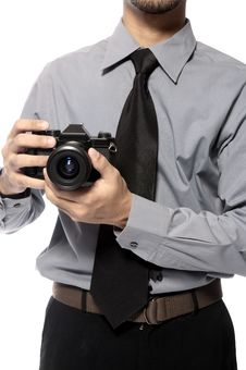 Free Shot With SLR Camera Stock Photos - 25842223