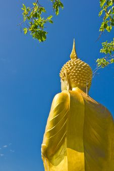 Big Golden Buddha Statue Royalty Free Stock Image