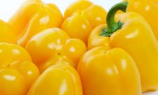 Free Yellow Bell Peppers Royalty Free Stock Images - 25847289