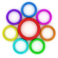Free Rainbow Rings Stock Images - 25852334
