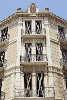 Free Spanish Building Detail Stock Photography - 25852842