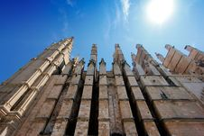 Free Detail Of Cathedral Of Palma Stock Photo - 25854130