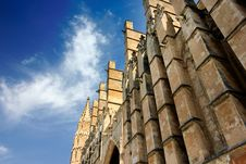 Free Detail Of Cathedral Of Palma Stock Photo - 25854270