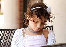 Free Sad Young Girl Stock Photos - 25856203