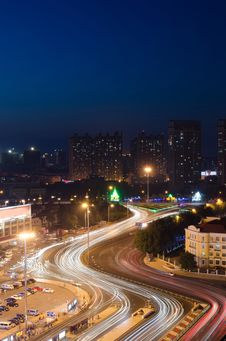 Free The Night Of Harbin Royalty Free Stock Images - 25856809