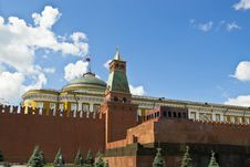 Free Lenin S Mausoleum Royalty Free Stock Photos - 25858878