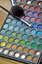 Free Colorful Eye Makeup Tray Stock Photography - 25869942
